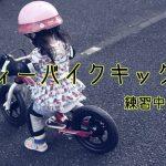【ペダルレスバイク】アイデスのディーバイクキックスを2週間練習したよ