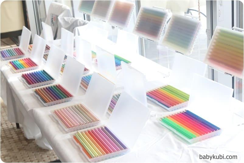 500色の色えんぴつ