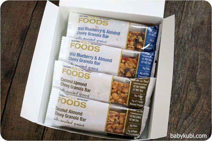 California Gold Nutrition, フード、バラエティーパックスナックバー