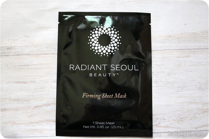 Radiant Seoul, ファーミングシートマスク