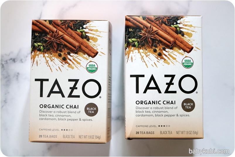 Tazo Teas, オーガニックチャイ